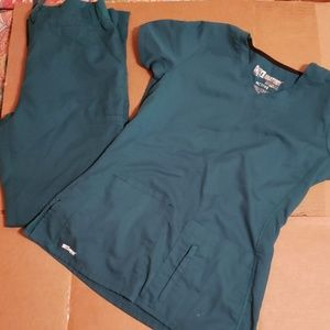 Womens scrub set